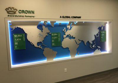 Office Wall Display